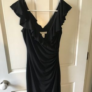White House Black Market Black Cocktail Dress